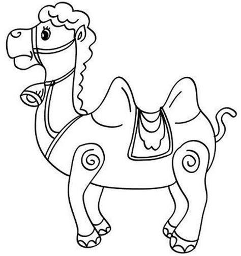 imagenes reyes magos con camellos dibujos de navidad para colorear gratis