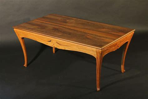 custom nouveau coffee table by j rivers furniture