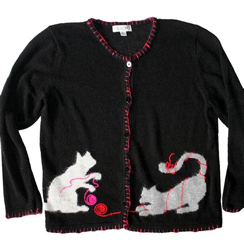 Roundhand Sweater Sweater Rajut 1 cat tacky sweater new the sweater shop