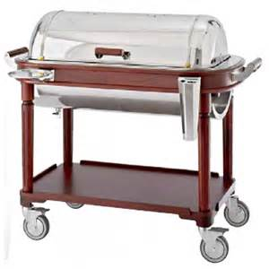 Advance Cabinets Roast Beef Carving Trolley Wood