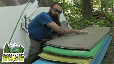 care and use of therm a rest self inflating sleeping pads