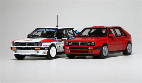 1 64 Kyosho Fiat Lanica Minicar Collection Fiat Coupe Yellow Die Cast cm s lancia delta hf integrale