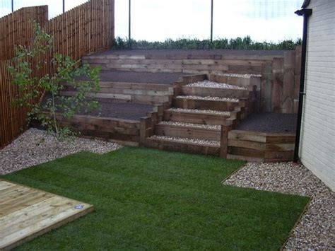 Timber Sleeper Retaining Walls by Timber Retaining Wall Railway Sleepers
