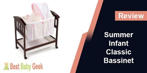summer infant classic comfort wood bassinet reviews summer infant classic comfort wood bassinet review