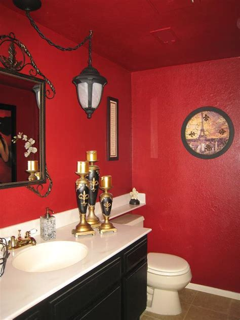 red bathroom design ideas   interior god
