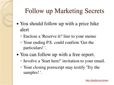 8 Advertising Tricks Of The Industry by Discover 15 Follow Up Marketing And Copywriting Secrets