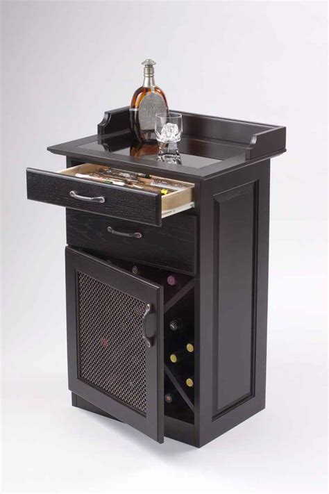 small black bar cabinet home bar design