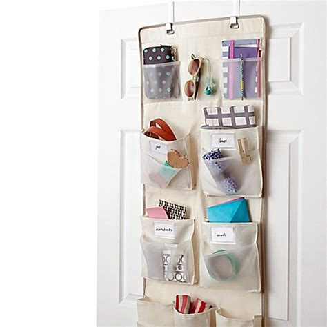 over the door organizer buy real simple 174 29 pocket over the door multipurpose