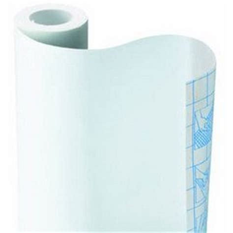 Self Adhesive Shelf Liner Uk by Solid White Self Adhesive Contact Paper Shelf Liner 9ft