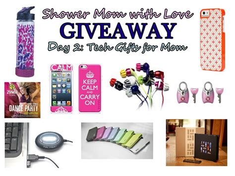 Giveaways For Moms - shower mom with love giveaway day two tech gifts for mom
