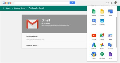 authenticate  google apps gmail  dkim