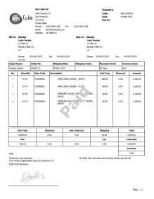 sample invoice template e commercewordpress