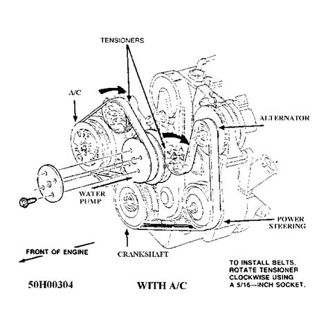 2005 ford taurus belt diagram serpentine belt diagram for 2002 ford taurus serpentine