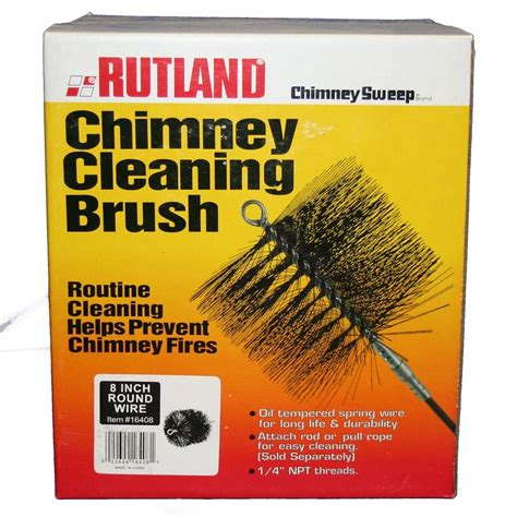 Chimney Flue Cleaning Kit - rutland 8 in chimney sweep wire chimney cleaning