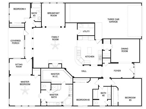 house plan plan design new 4 bedroom ranch house plans awesome 6 bedroom ranch house plans new home plans design