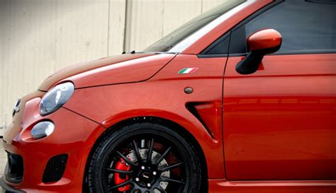 abarth 500 vented wing kit