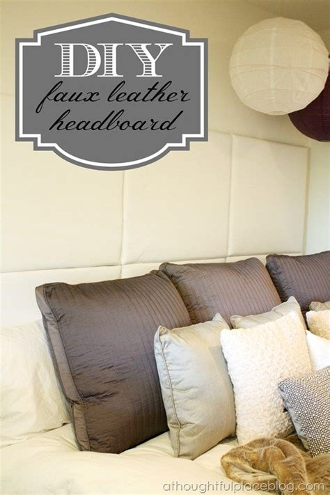 diy faux leather headboard diy how to make a paneled padded headboard a thoughtful place