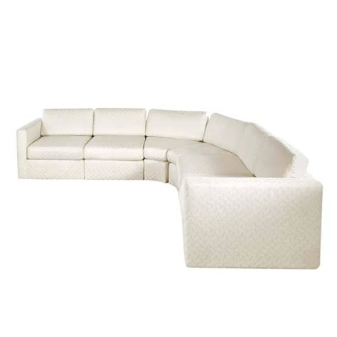 semi round sectional sofa semi circular six piece sectional sofa by milo baughman