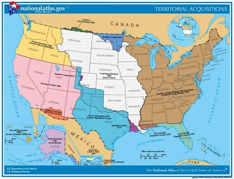 american lands cession map mexican cession history territory mexican cession summary us