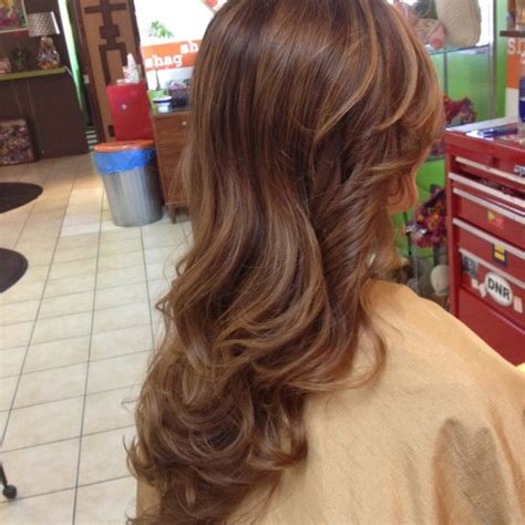 fall highlights for brown hair soft fall highlights hair pinterest summer dark