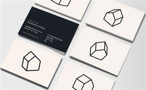 architecture business cards architect business card idea design pinterest