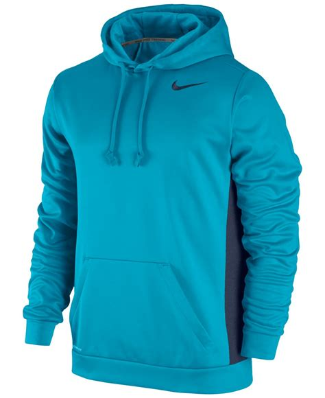 nike s ko 3 0 therma fit pullover hoodie in blue for lyst