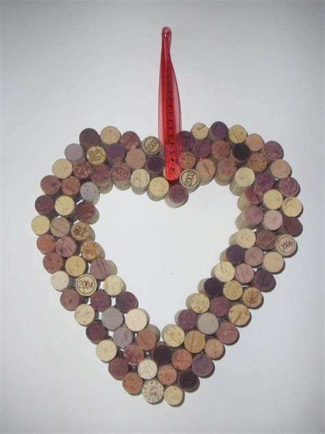 medium wine cork wreath