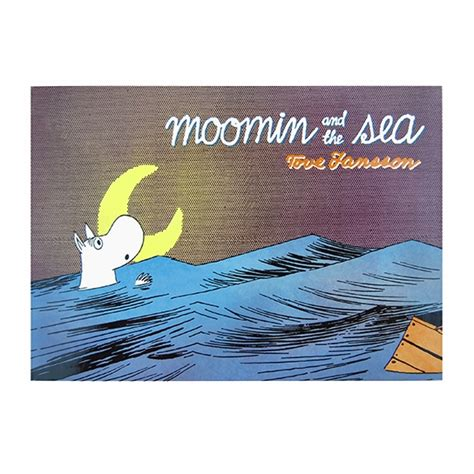 Moomin And The Sea moomin and the sea book unique gifts for a child