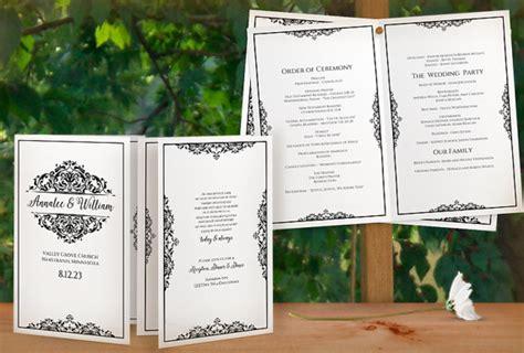 sle wedding program templates sale diy printable wedding program template instant