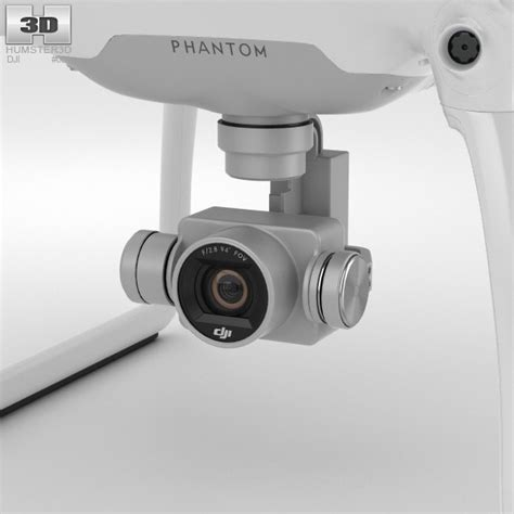 Kamera Drone Phantom 4 dji phantom 4 drone 3d model hum3d