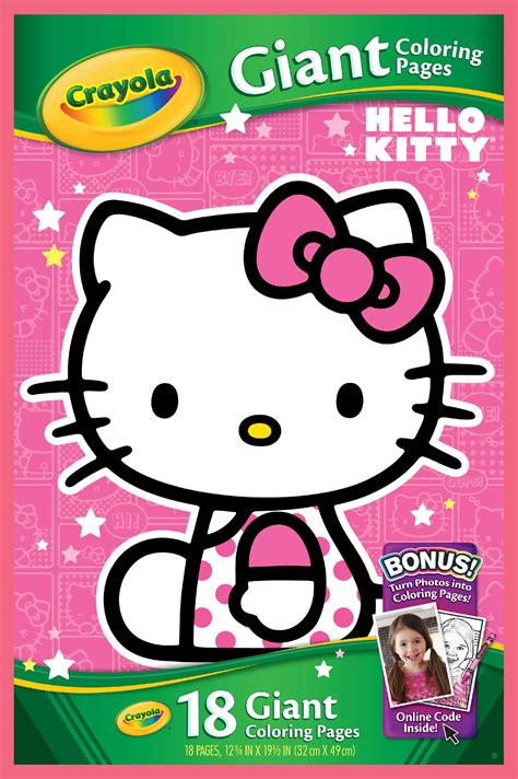 crayola giant coloring pages hot wheels crayola hello kitty giant coloring pages toys games