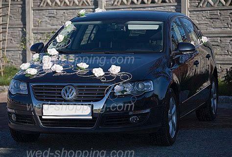 Hochzeitswagen Deko by Hochzeitsauto Deko Creme Blumen