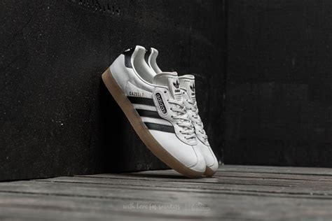 Adidas Cus Black White Gum adidas gazelle vintage white black gum footshop