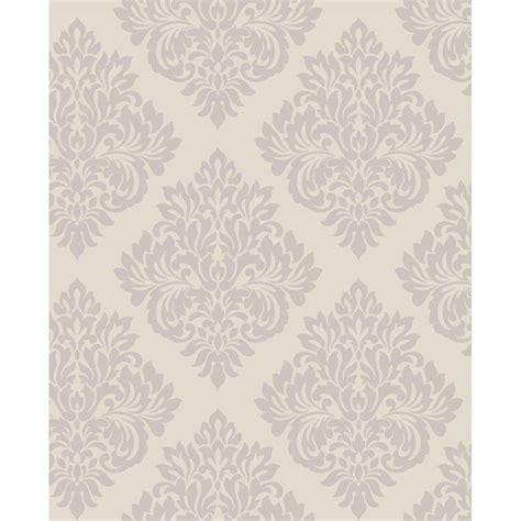 b m glitter wallpaper b m fine decor sparkle putty silver damask wallpaper