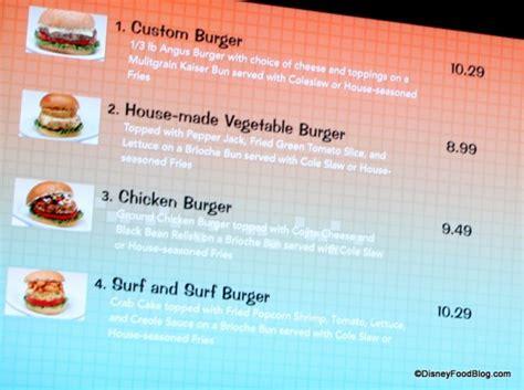 food court menu design art of animation food court and menu the disney food blog