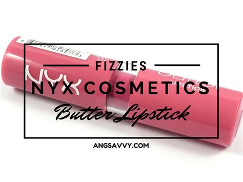 Nyx Butter Lipstick Original nyx butter lipstick fizzies bls21 review ang savvy