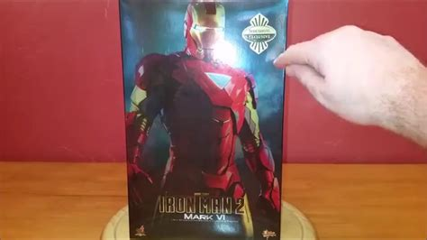 unboxing hot toys marvel iron man mk mms collectible