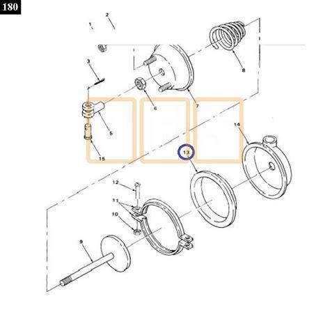 air brake chamber diagram brake chamber diaphragm pusher axle oshkosh equipment