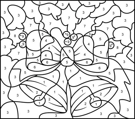numbers coloring pages 1 10 pdf numbers coloring pages coloring by number free printable