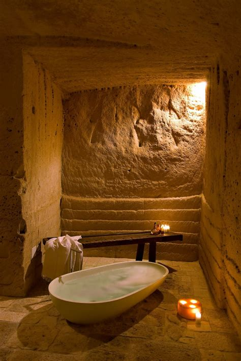 cave bathroom ideas the caves of civita a hotel into limestone caves in italy decoholic