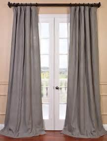 Grey Linen Curtains Grigio Grey Linen Curtain Contemporary Curtains San Francisco By Half Price Drapes