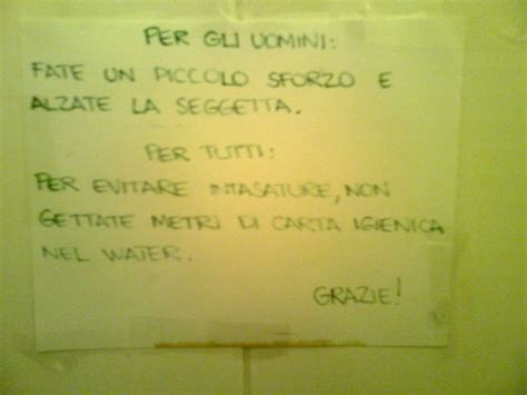 cartelli per bagni pubblici 10 cartelli trovati nel bagni pubblici che vi stupiranno