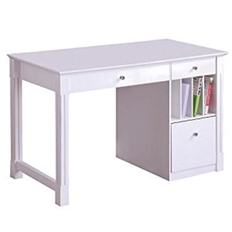 White Desk With File Drawers by 48 Inch Wide White Wood Deluxe Desk Home