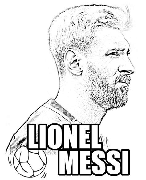 lionel messi coloring pages pictures to pin on pinterest