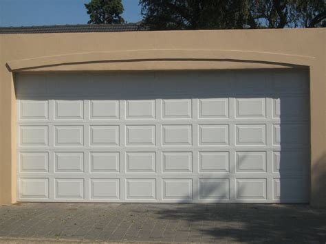 two door garage double steele garage door per door eec secure gate