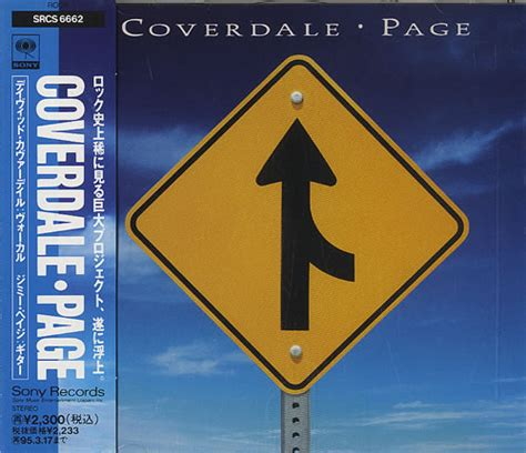 Cd Coverdale Page Album Coverdale Page coverdale page coverdale page japan cd album cdlp 460815