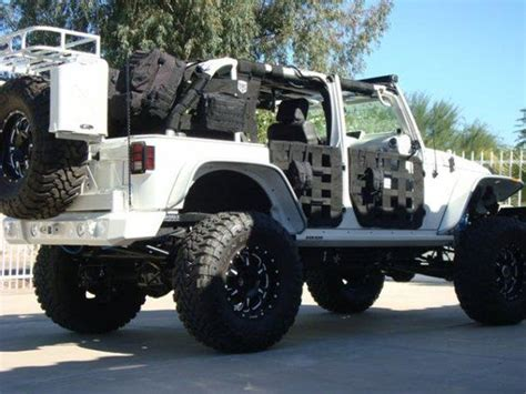 Decked Out Jeep Wrangler Jeeps White Jeep And Adventure On
