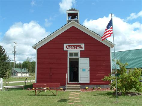 Otsego County Fair Little Red School House Gaylord