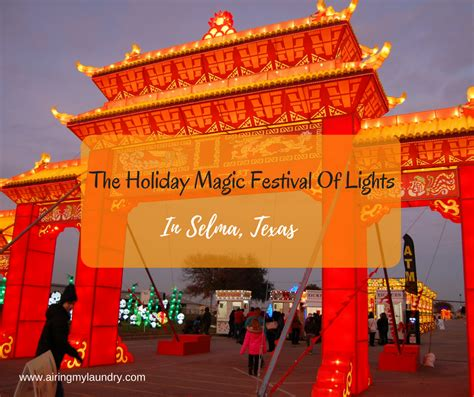 holiday magic festival of lights airing my laundry one post at a time the holiday