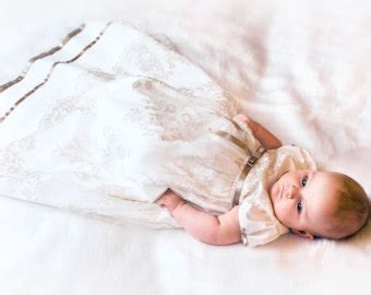 Wedding Blessing And Christening by Baptism Dress Flower Dress Baby Dress Baby